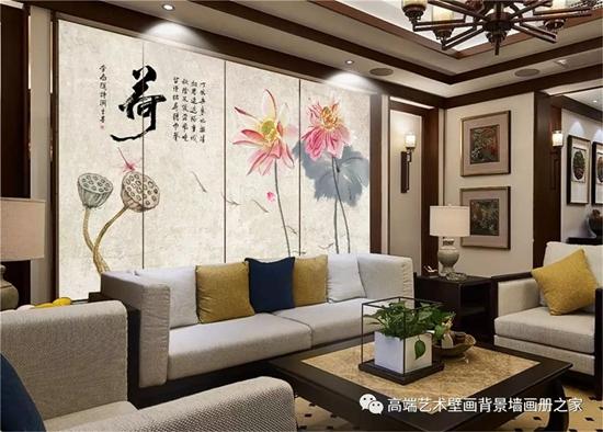 黄埔艺术背景墙