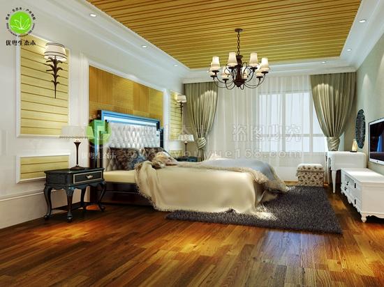 广州生态木卧室墙板