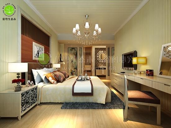 番禺生态木卧室墙板