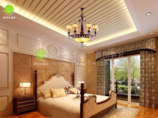 从化生态木卧室墙板
