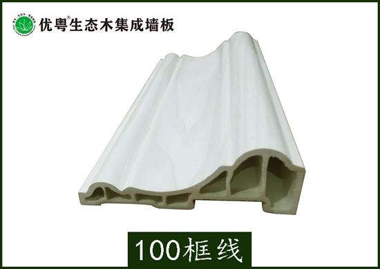 竹木纤维集成墙板100框