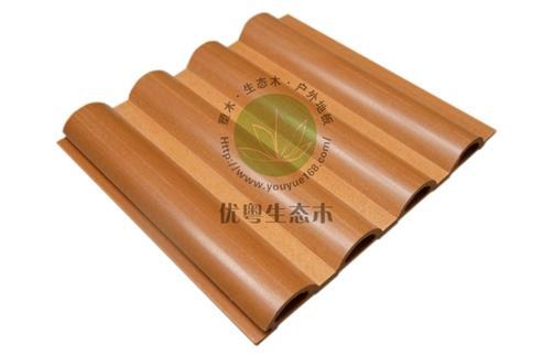 生态木墙板168.5小半圆