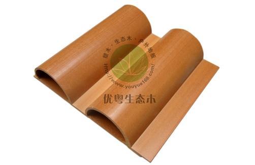 生态木墙板169.5大半圆