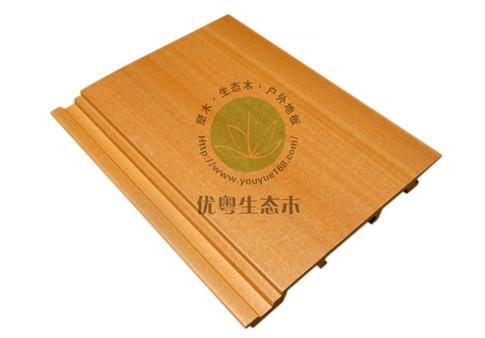 生态木墙板100X10平板