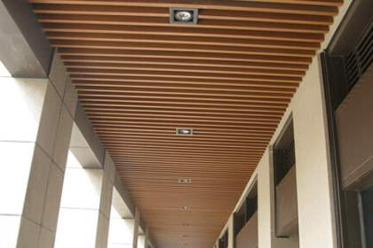 生态木吊顶安装时如何避免变形